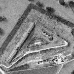 Luftfoto Taarbæk Fort 1955