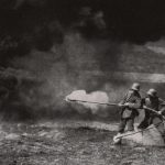 Tysk flammekasterhold 1916