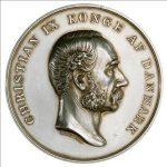 Den Frivillige Selvbeskatning, erindringsmedalje i sølv