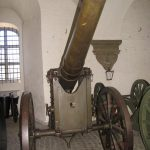 Det danske artilleri på Københavns Befæstning, 12 cm lang jernkanon