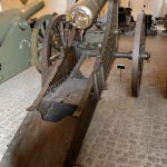 12cm. lang jernkanon i voldaffutage