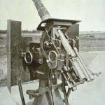 ludtforsvaret 75 mm. kanon i tillempet affutage