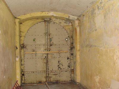 Porten til fortet