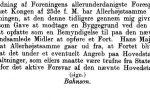 Den Frivillige Selvbeskatning, henvendelse til Bahnson marts 1886
