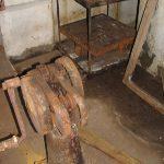 Ammunitionselevator i artillerimagasin, Vestvolden