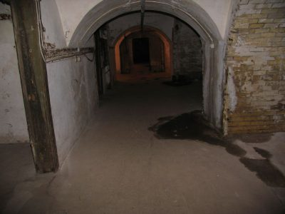 Korridoren underetagen