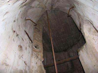 Lyngby Fort rest af observationstårn