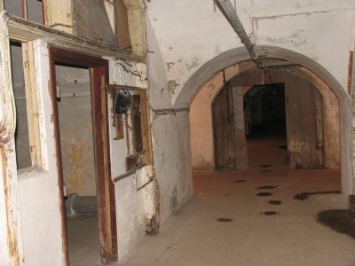 Korridor i mandskabs- og magasinetagen