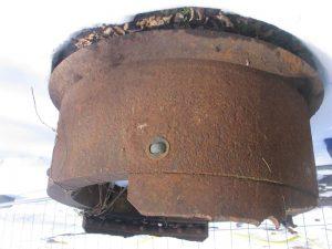 Bagsværd Fort Observatørens panserkuppel