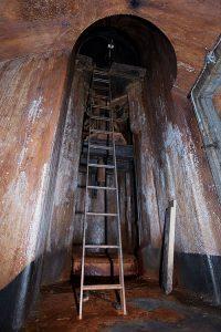 Taarbæk fort stige til rekylgeværtårn