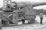 Dragør fort 35,5 cm. kanon
