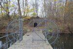 Særlige anlæg på Vestvolden, bro og vagtrum