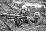 55 års udvikling. gasmaske og maskingevær