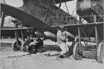 Flyvemaskinerne truede Københavns Befæstning, tysk Gotha bombefly
