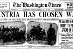 The Washington Times, 1 verdenskrig 1914
