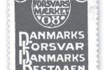Private indsamlinger til forsvaret, Forsvarsmærke 1908