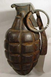 Håndgranater, grenade US_MK_1 1917