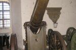 Vestvolden, 12 cm kanon M/1887