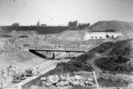 Byggeri på Vestvolden 1890