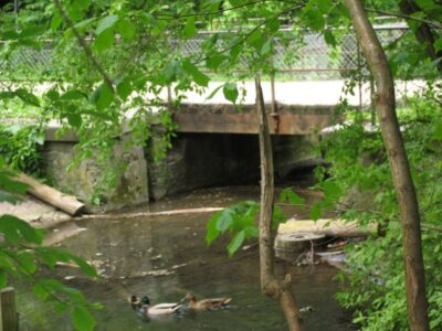 Vestvoldens våde grav, underløb Utterslev
