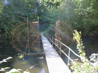 Vestvolden, renoveret bro