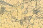 Vestvolden, Husum, kort ca 1900