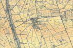 Kort over Vestvolden, Ejby, ca 1900