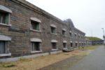 Københavns befæstning Middelgrundsfortet, fredstidskaserne strube
