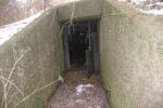 Indgang generator bunker
