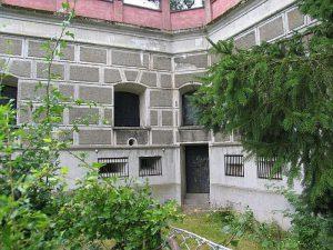 Befæstningens forters opbygning, Saillantkaponieren, Lyngby Fort