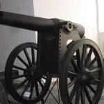Vestvolden,Københavns Befæstning,15 cm kanon i voldaffutage