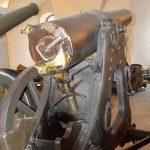 Vestvolden, !5 cm kanon kort staalkanon, låsen