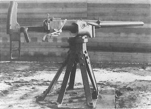 Københavns Befæstning, 47 mm kanon, krinolineaffutage
