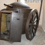 53 mm. transportabelt Gruson pansertårn