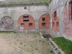 Garderhøjfortet, Københavns Befæstning, Gravkaponiere