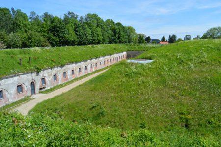 Garderhøjfortet Københavns befæstning, kasernen