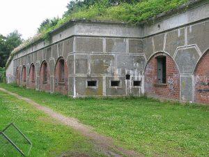 Lyngbyfortet, strubekaponieren, Københavns Befæstning