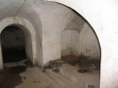 Lyngby Fort skytsetagen