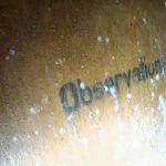 Taarbæk Fort Skilt mod observationstårn