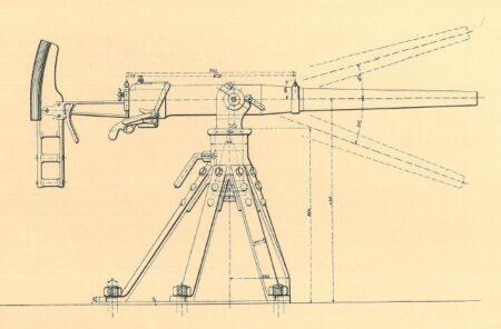 47 mm kanon i krinolineaffutage