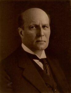 Befæstningens personalia Forsvarsminister P. R. Munch