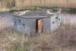 Gravflanke, Lynæs Fort,